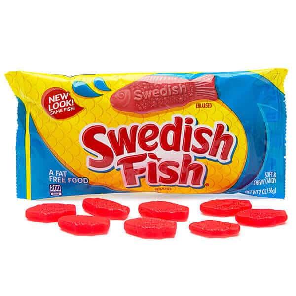 are swedish fish vegan
