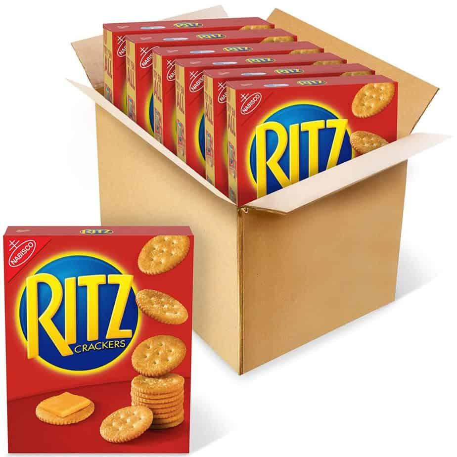 are ritz crackers vegan