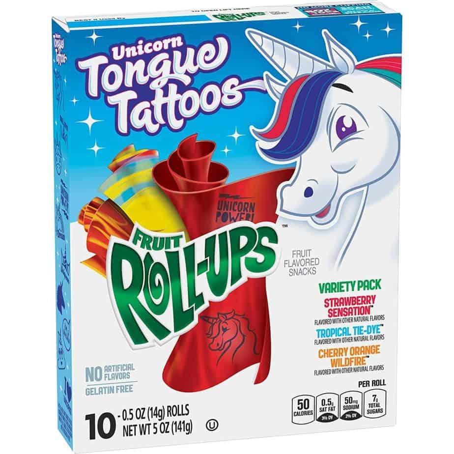 are fruit roll ups vegan